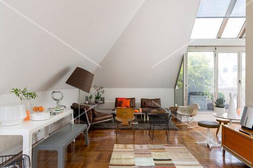 Penthouse apartment in Paris, France