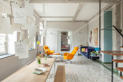 Renovation and transformation of a workshop into a home in Kaub, Germany