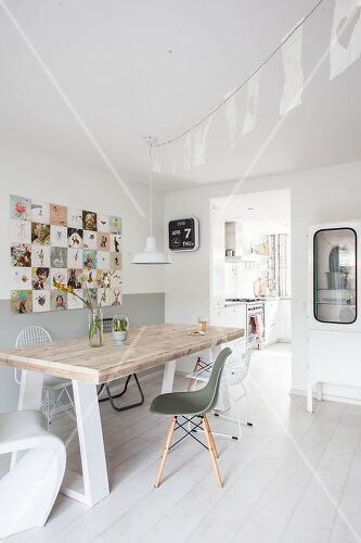 Contemporary and vintage combine in this home in Amersfoort, Netherlands