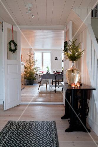 Celebrating Christmas in Dalum, Sweden