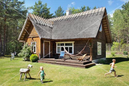 Summer house on Hiiumaa, an Estonian island in the Baltic Sea