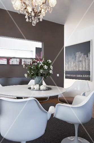 durchreiche k che wohnzimmer bilder. Black Bedroom Furniture Sets. Home Design Ideas