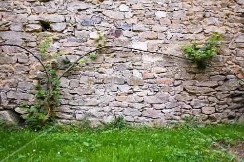 steinmauer im garten bild kaufen living4media