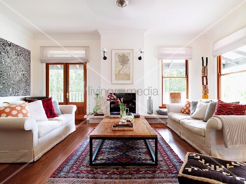 Orientteppich Wohnzimmer