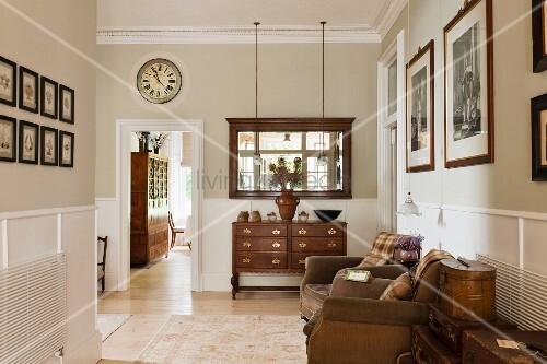 traditionelle ledersessel m belideen. Black Bedroom Furniture Sets. Home Design Ideas