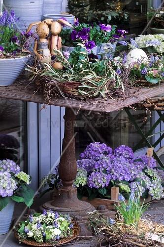 Garten m bel deko - Gartentisch deko ...