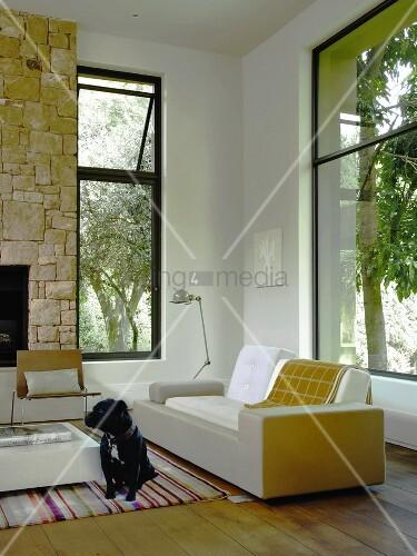 Ein wohnraum bild kaufen living4media for Innendesigner schweiz