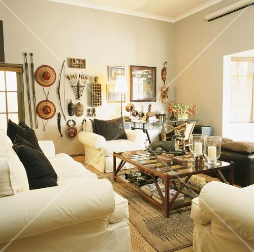 wohnzimmer bild kaufen living4media. Black Bedroom Furniture Sets. Home Design Ideas