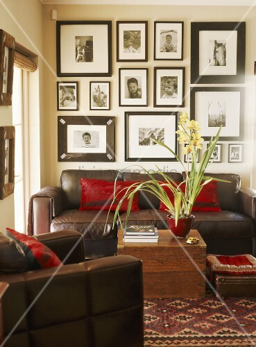 Wohnzimmer Bilderwand Raum Haus Mit Interessanten Ideen