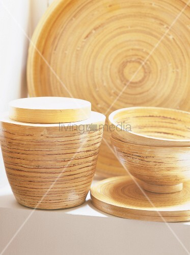 various bamboo dishes bild kaufen living4media. Black Bedroom Furniture Sets. Home Design Ideas