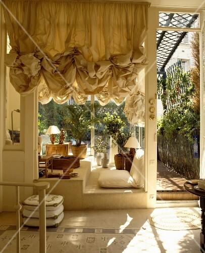ger schte jalousie vor fenster zu wintergarten wohnzimmer. Black Bedroom Furniture Sets. Home Design Ideas