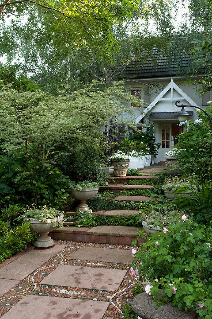 Nostalgischer Garten