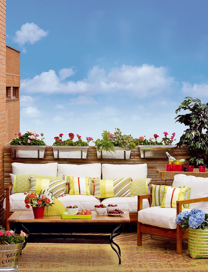 A Stylish Outdoor Living Area