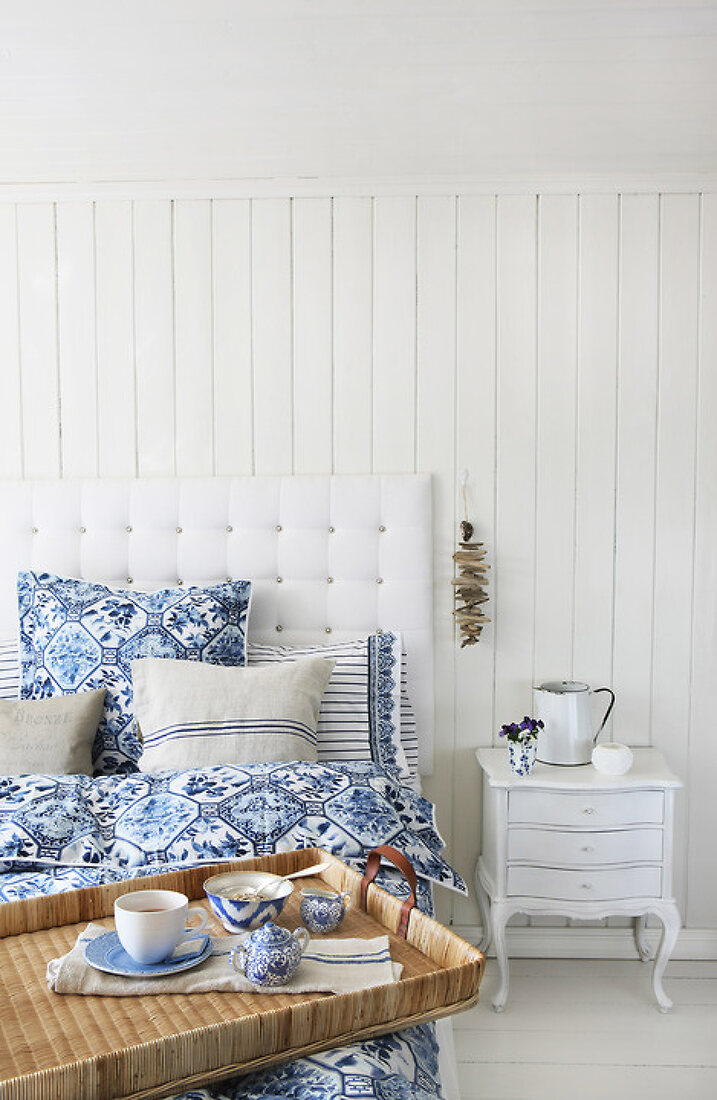 Dreams in Blue and White