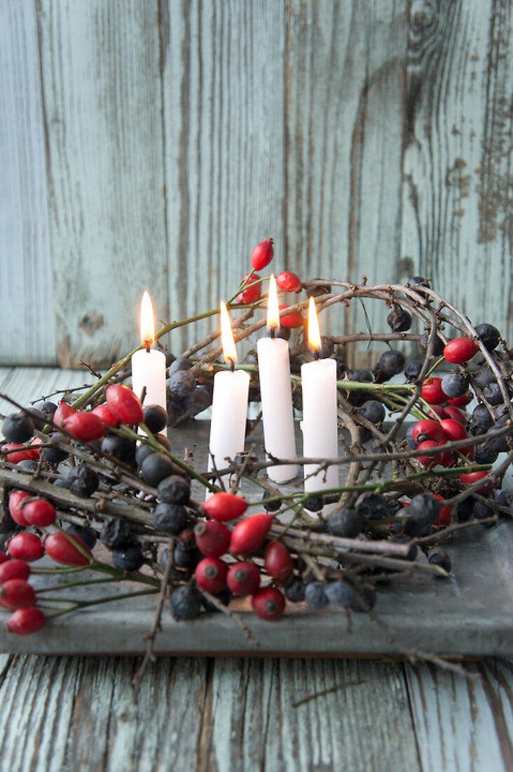 Sloe Wreath