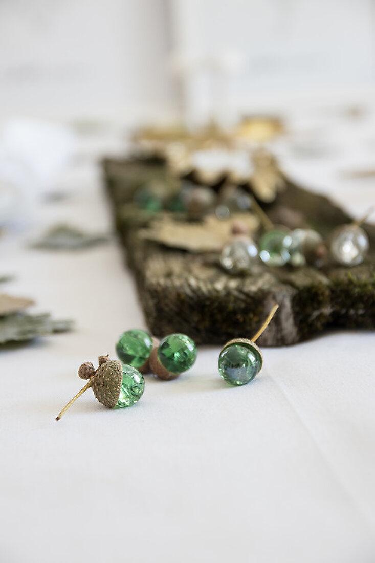 Marble Acorns