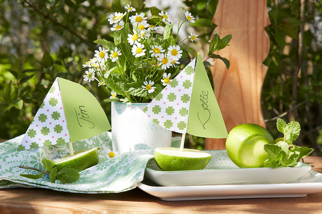 Mint and Lime
