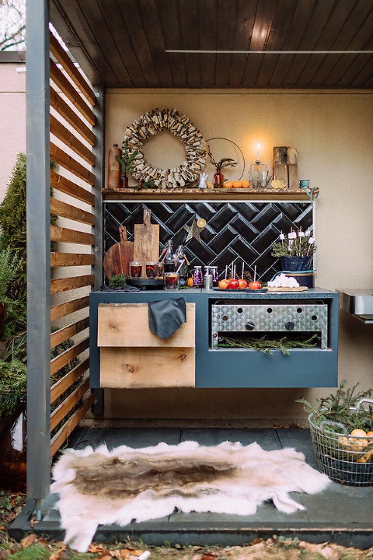 Outdoor-Küche im Kleinformat
