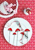 Decorative Poison Mushrooms