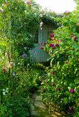Garten an der Grenze