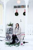 Ein Weihnachtstraum in Weiß