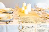 Tischläufer-Symphonie