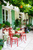 Französisches Landleben