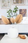 Palmenblätter DIY