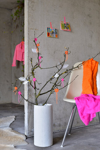 Neon Cherry Blossoms