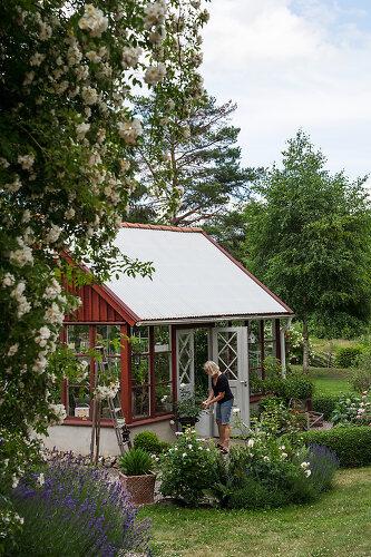 A Garden's Oasis
