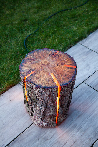 Glowing Timber