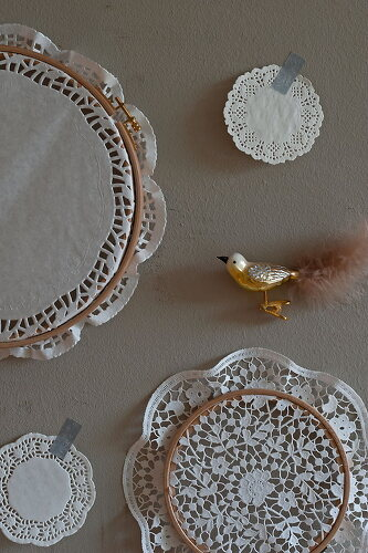 Deco with Cake Doilies