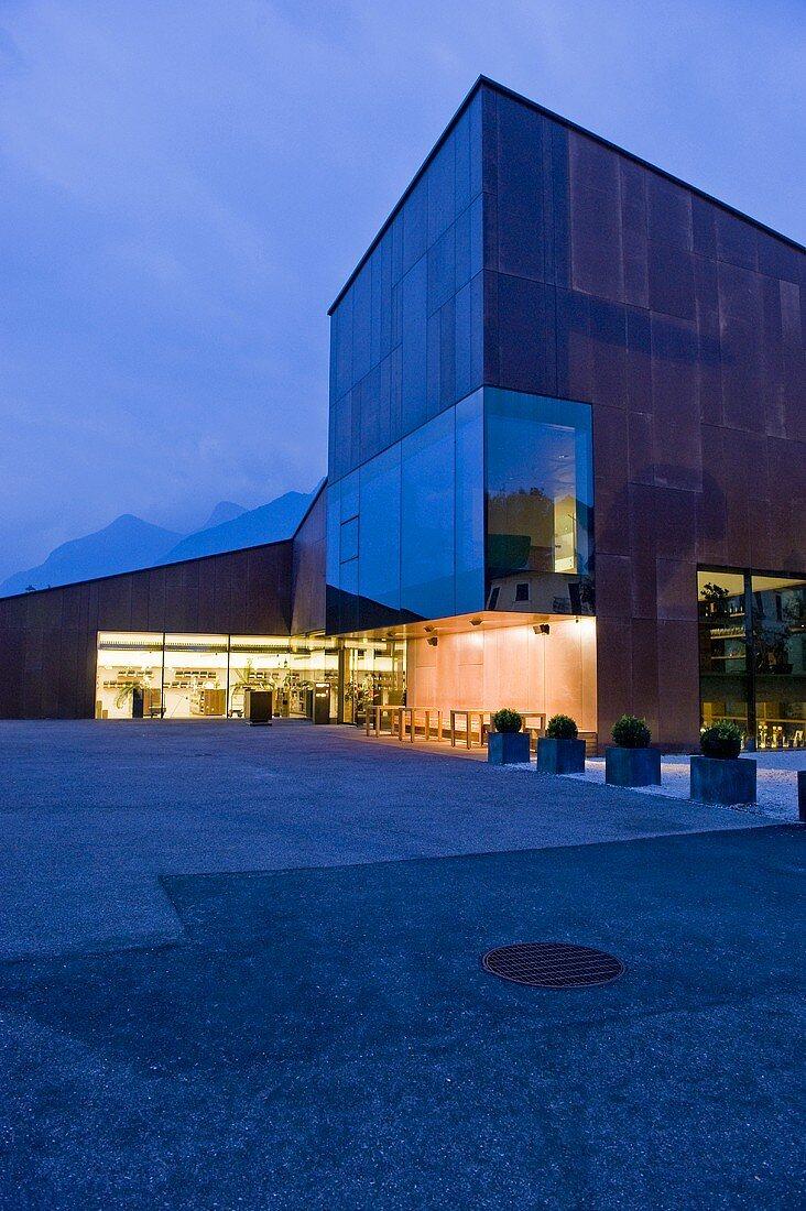 Wine centre, Kaltern, South Tyrol
