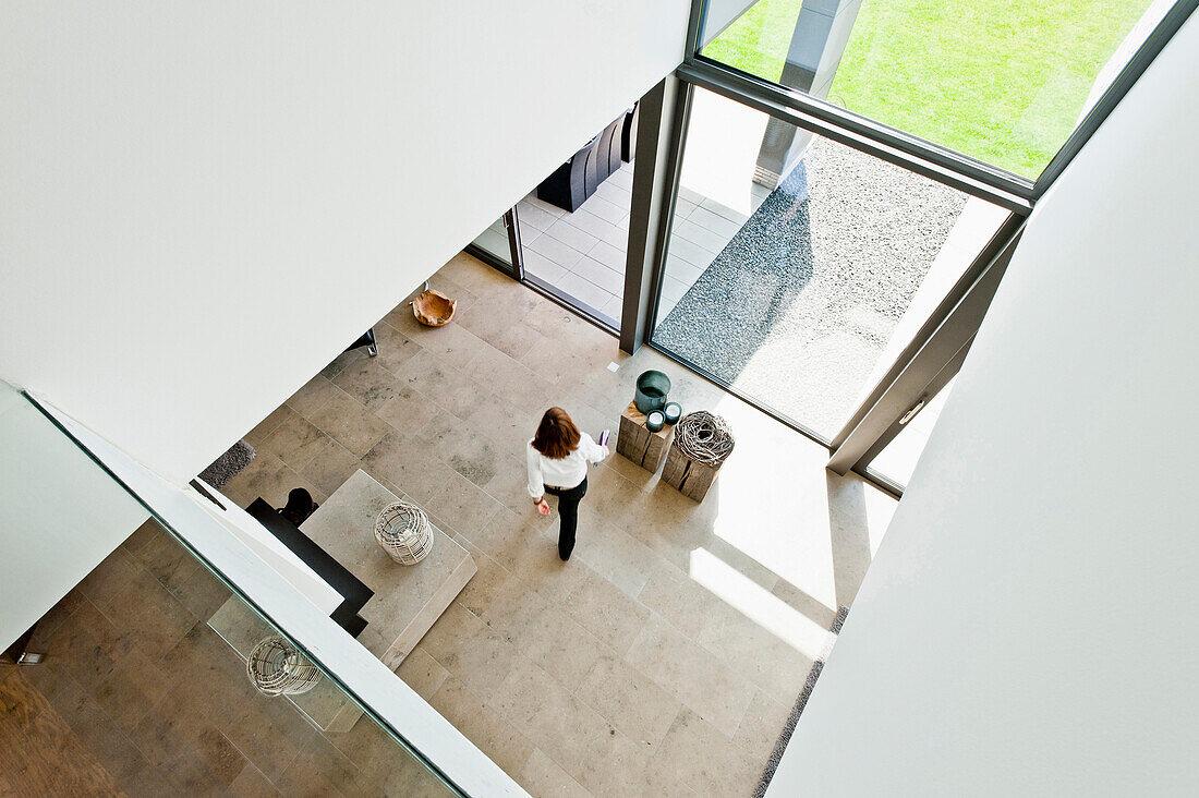 Modern living area, Neuenkirchen, North Rhine-Westphalia, Germany
