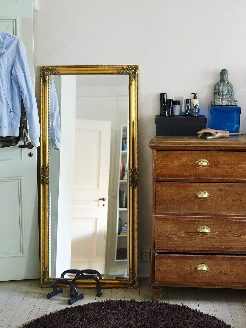 Full Length Mirror With A Good Frame Buy Image 708419 Living4media