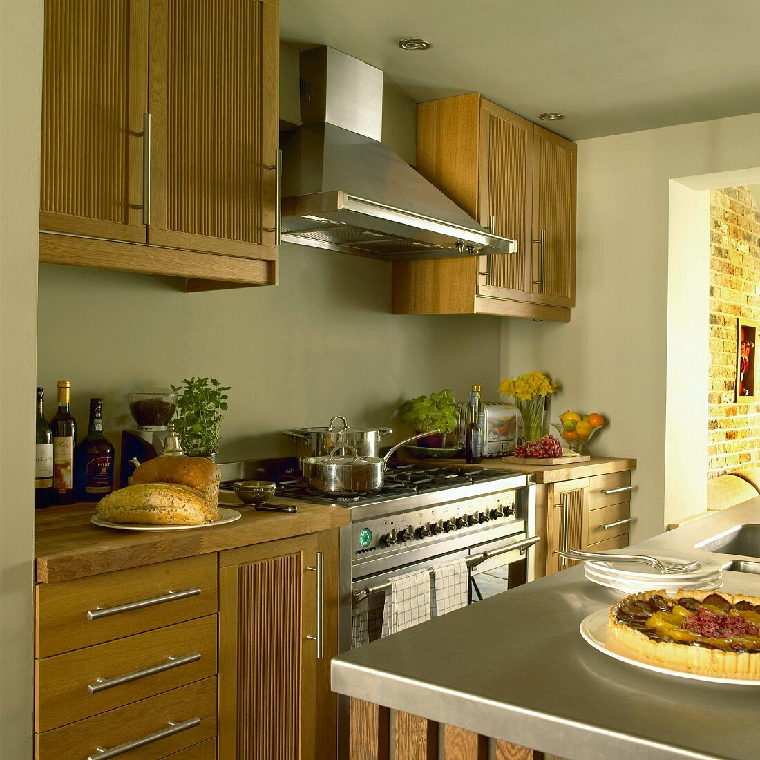 Country Home Style Kitchen With Pastel Buy Image 11193295 Living4media