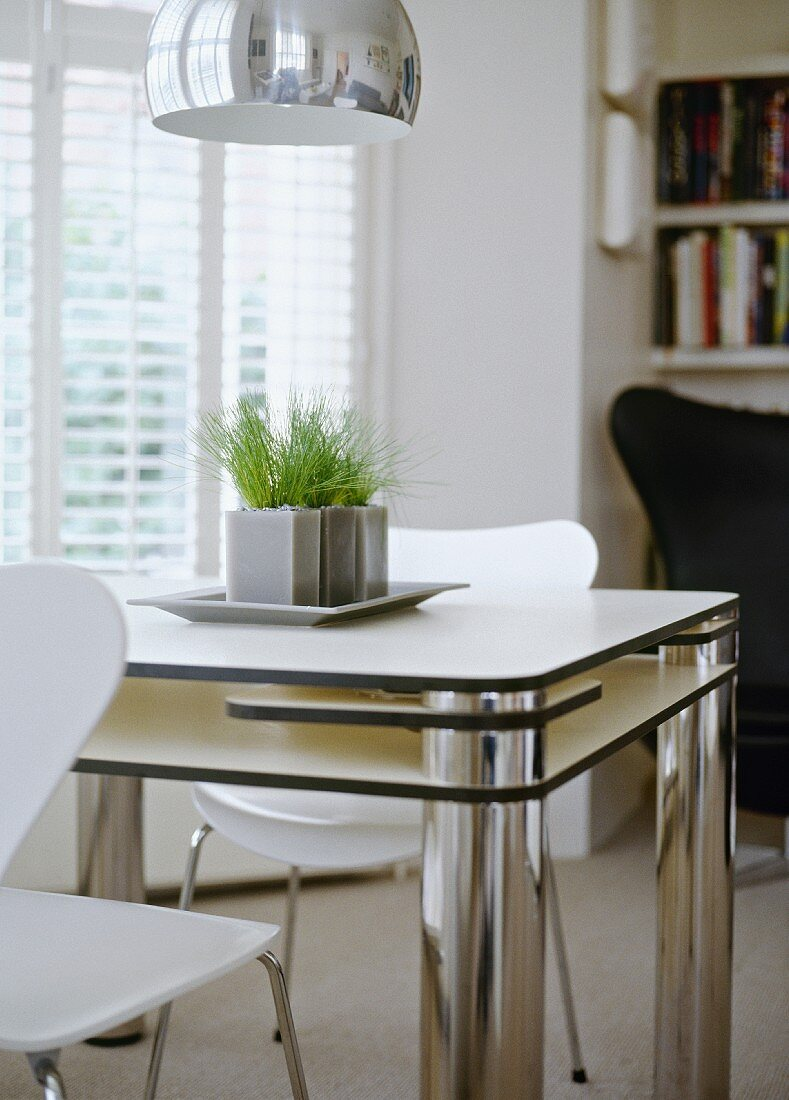Picture of: Small Dining Area In Cool Black And Buy Image 11029735 Living4media