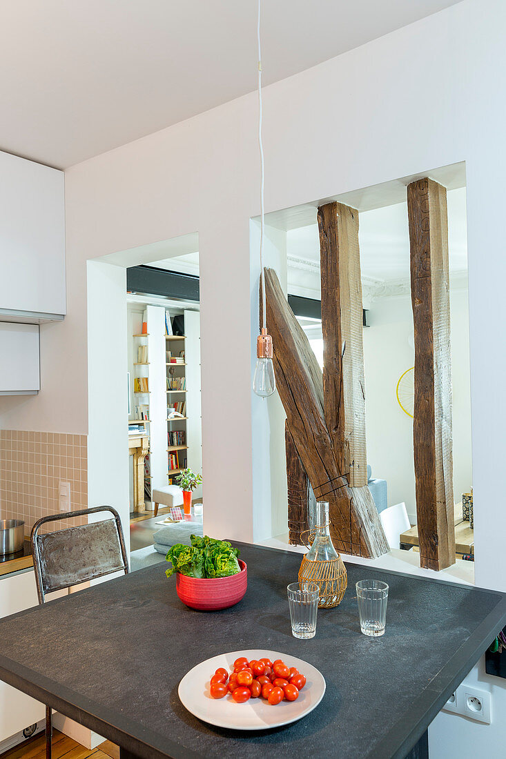 Partition Wall Between Kitchen And Buy Image 11516591 Living4media