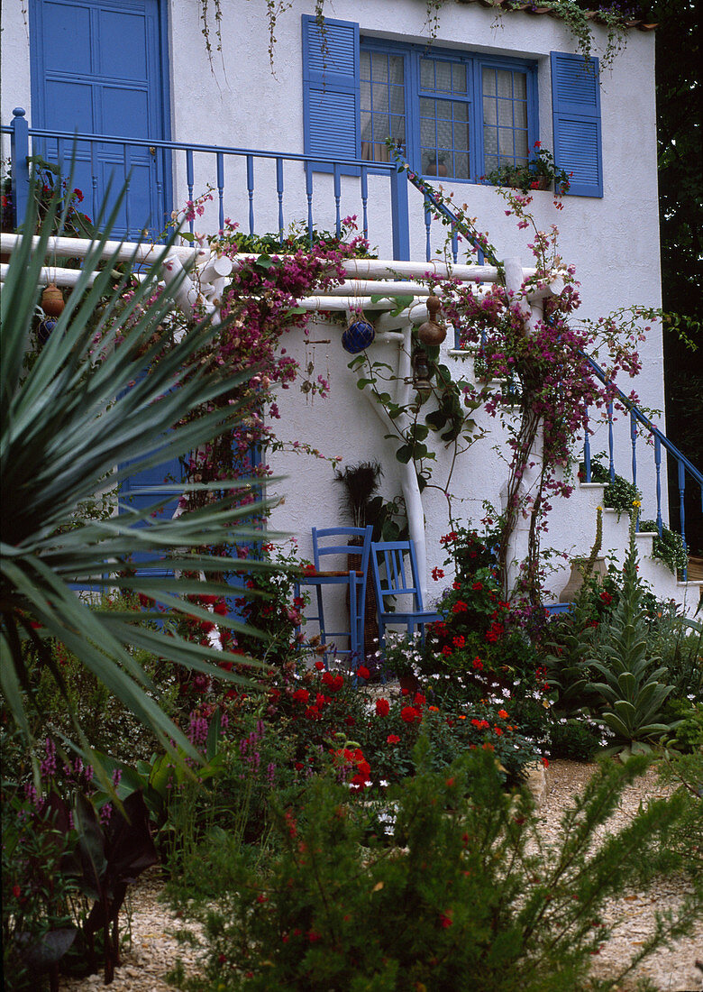 Mediterranser garden