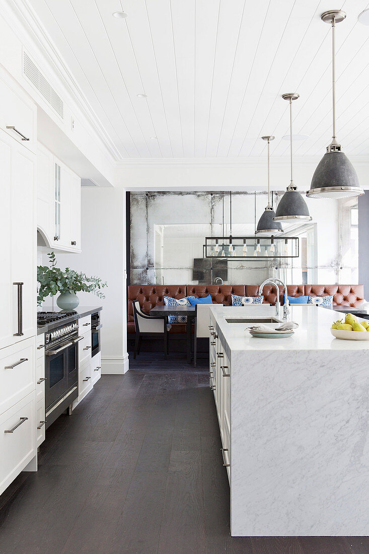 Kitchenette And Marble Kitchen Island Buy Image 12435805 Living4media