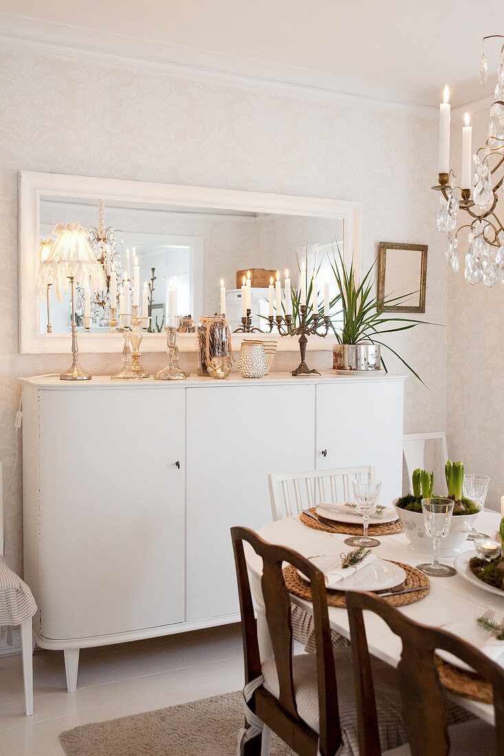 Picture of: Tall Sideboard With Christmas Buy Image 12531735 Living4media