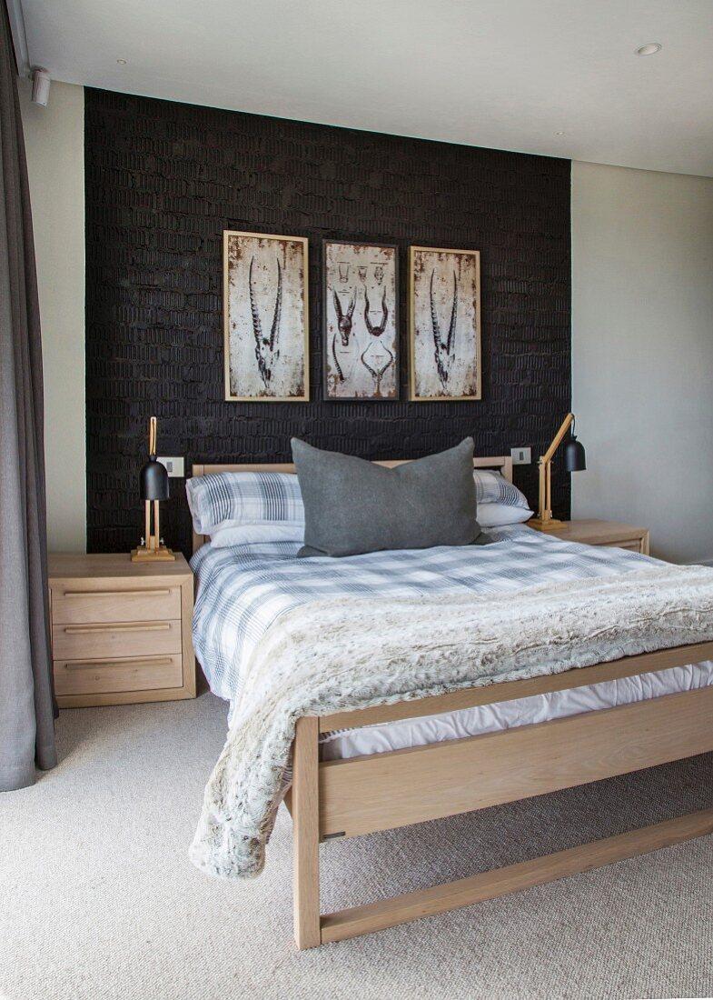 Schlafzimmer Mit Doppelbett Bild Kaufen 12316395 Living4media