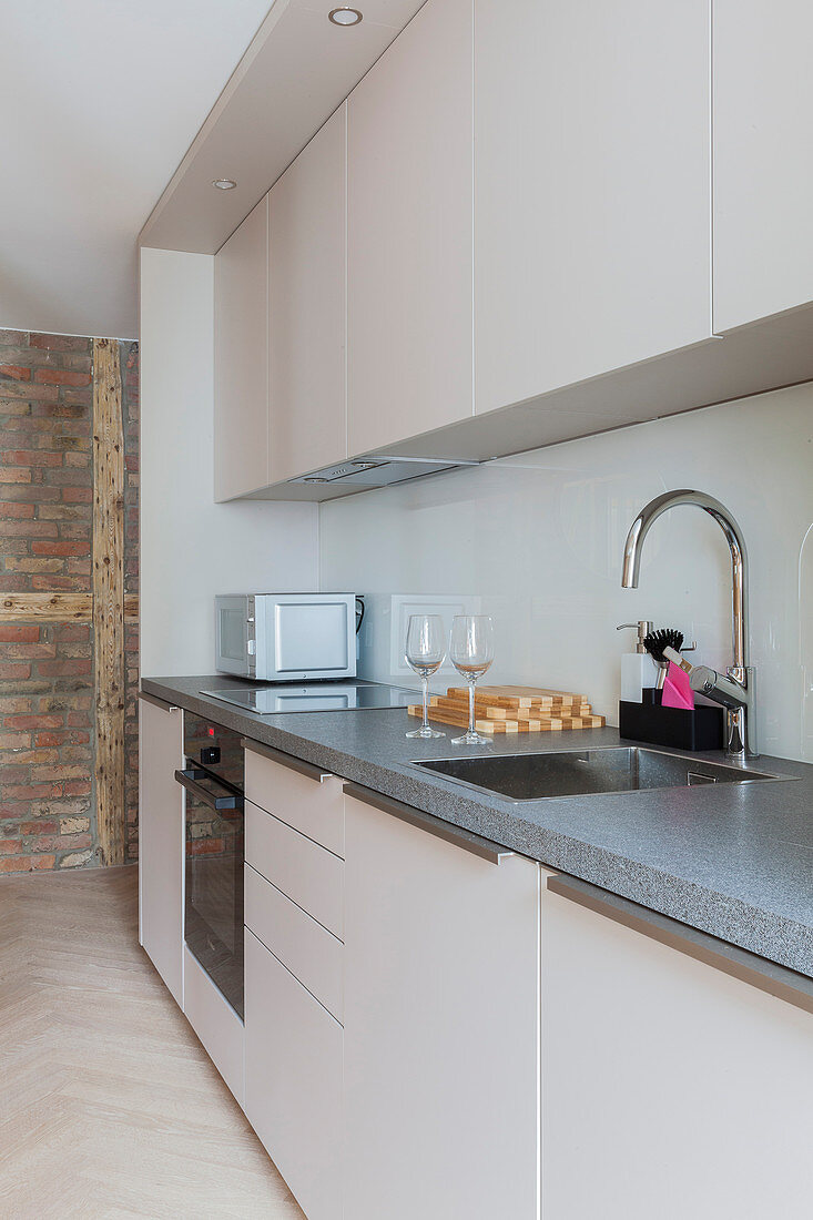 Simple fitted kitchen
