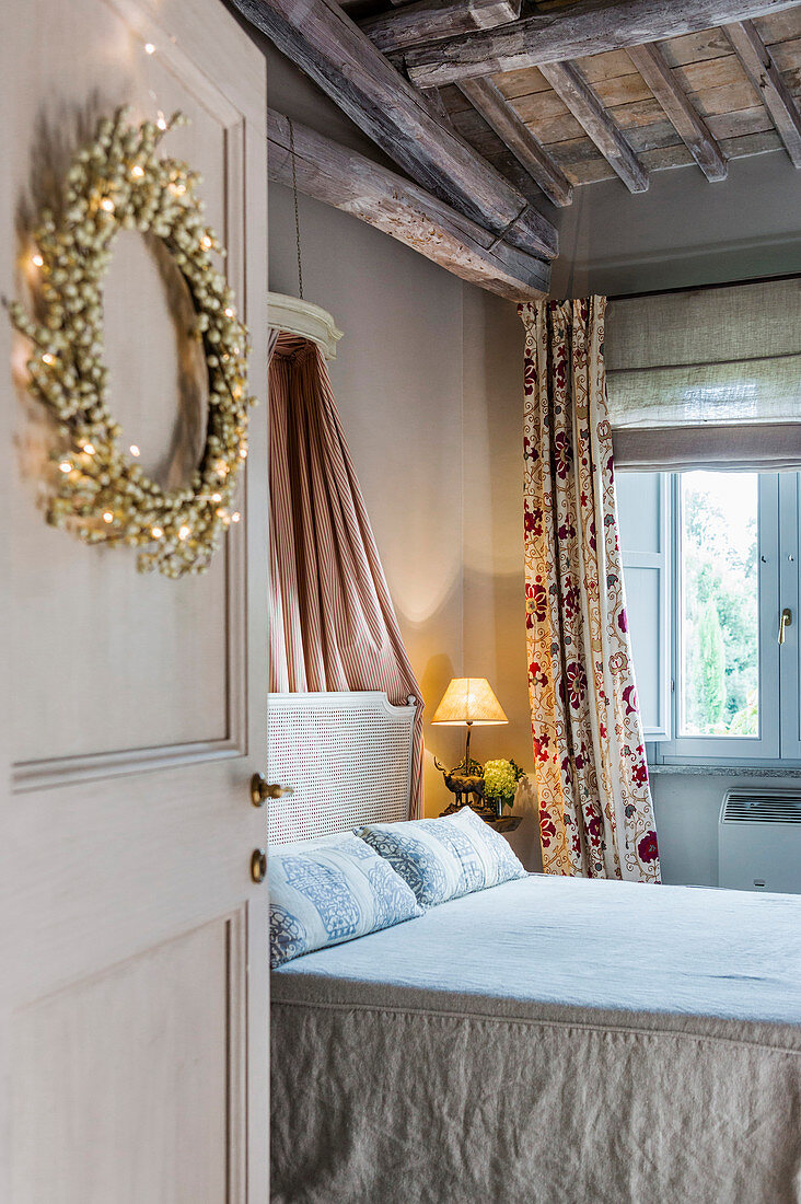 Double Bed In Bedroom With Festive Buy Image 12977467 Living4media