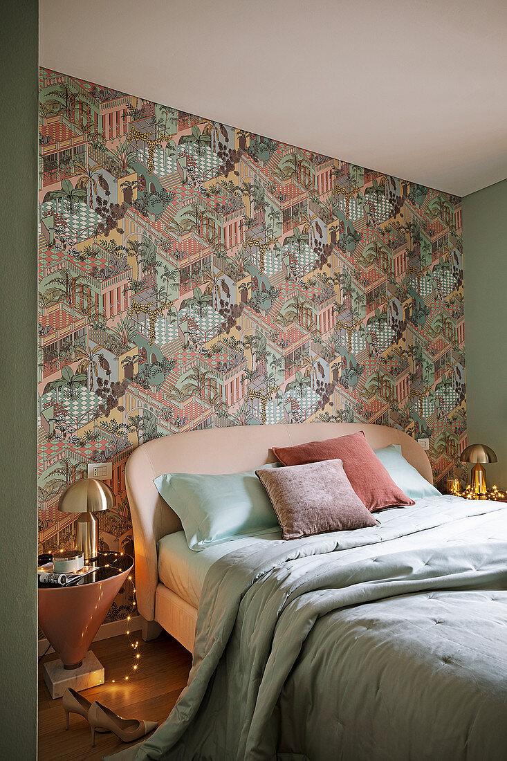 Glamouroses Schlafzimmer In Rose Und Bild Kaufen 13003049 Living4media