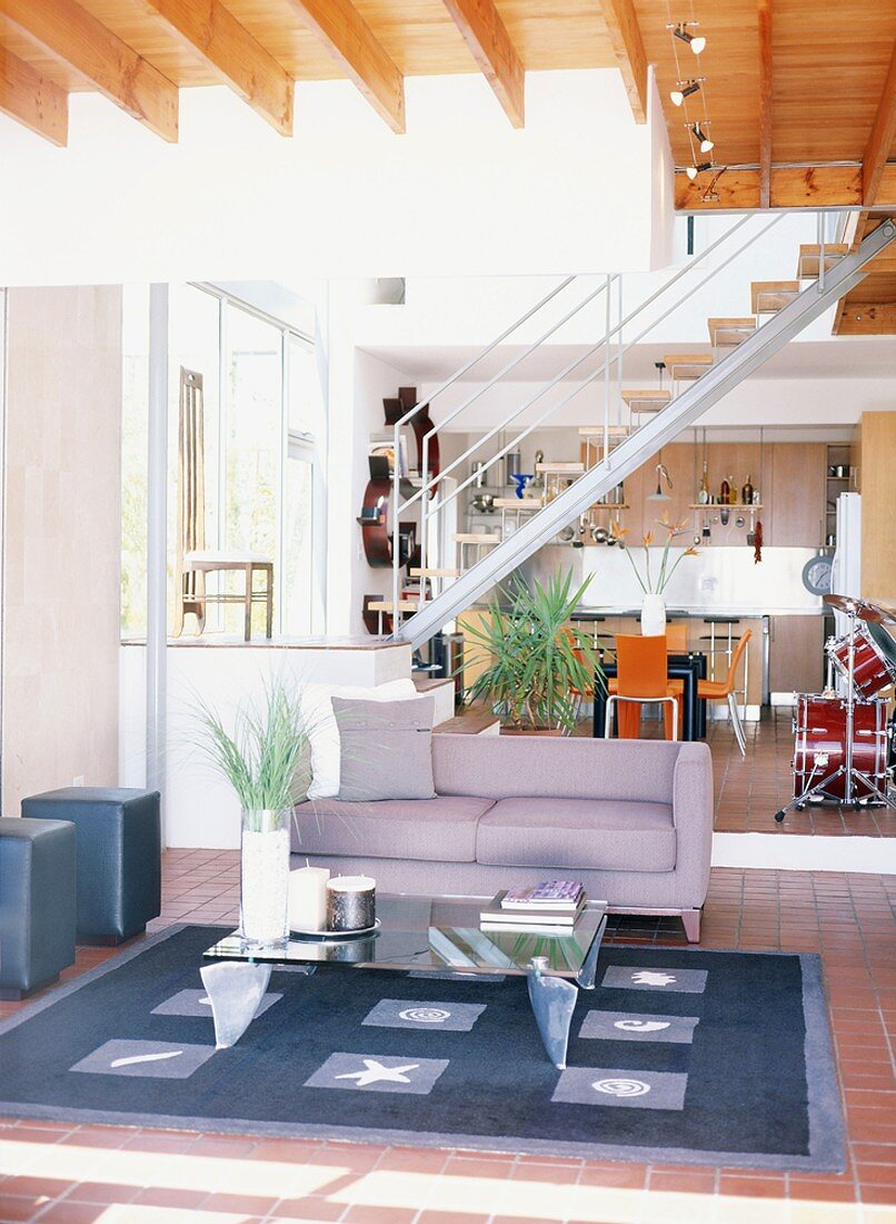 Modern Building With Open Staircase Buy Image 293375 Living4media
