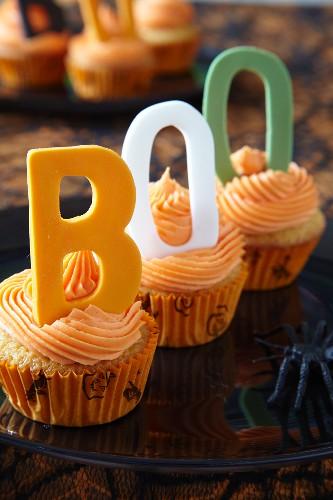 Halloween Cupcakes Verziert Mit Bild Kaufen 11313351 Living4media