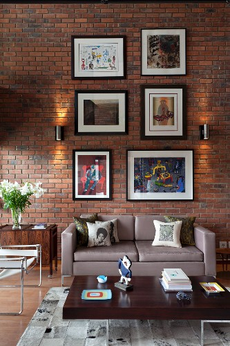 Gallery Of Pictures On Brick Wall Of Buy Image 11354347 Living4media