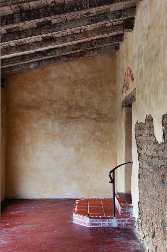 The Mission San Carlos Borromeo del rio Carmelo is a historic convent on the National Register of Historic Places and a U.S. National Historic Landmark