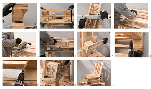Anleitung für einen Stuhl aus Paletten